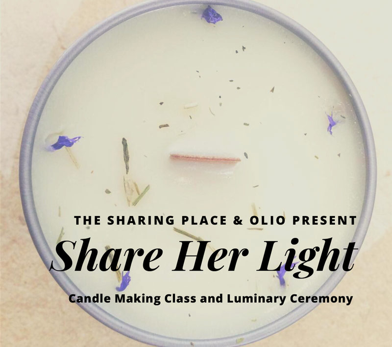 Share her light
